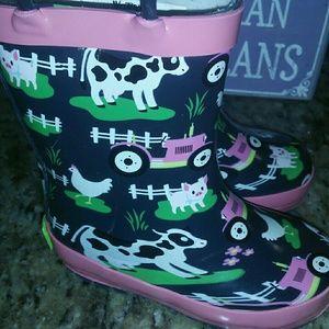 Western Chief Toddler/Little Kids Farm Rain Boots